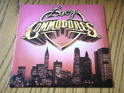 "Commodores - Lucy      7"" Vinyl Ps"