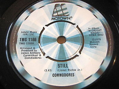 "Commodores - Still     7"" Vinyl"
