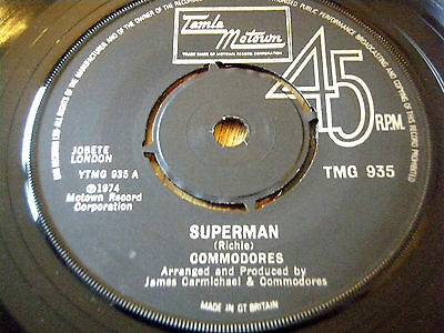 "Commodores - Superman     7"" Vinyl"