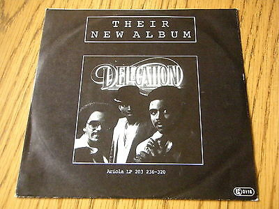 """Delegation - In The Night     7"""" Vinyl Ps"""