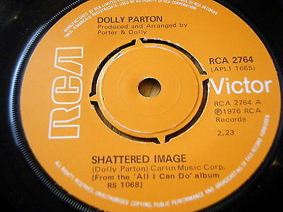 """Dolly Parton - Shattered Image      7"""" Vinyl"""