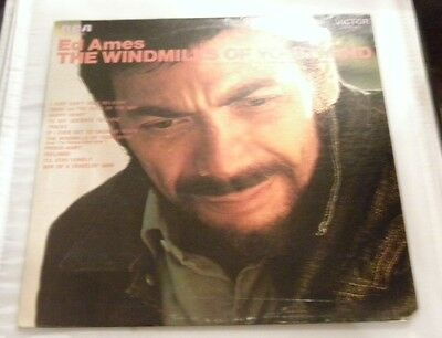 Ed Ames - The Windmills Of Your Mind (1969 RCA Victor LSP-4172) Used Vinyl LP