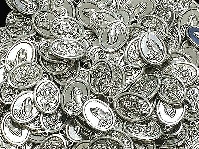 Bulk Lot 10 x Our Lady Of Perpetual Help Oval Medal Pendant