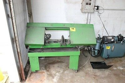 "RAMCO RS100P 10"" x 16"" horizontal vertical portable bandsaw band saw iron pipe"