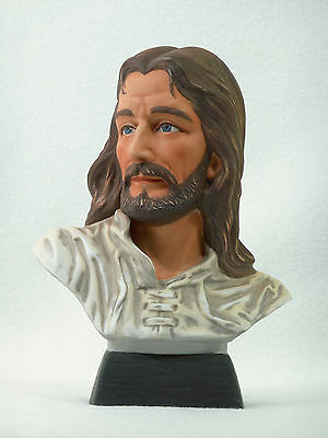 homco masterpiece porcelain jesus bust figurine vintage porcelain fisherman figurine jesus homco by