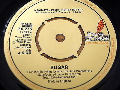 "Sugar - Manhattan Fever     7"" Vinyl"