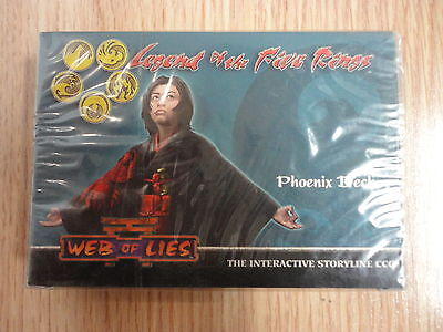 Legend of the Five Rings,Phoenix Deck,2004 (INGLES)