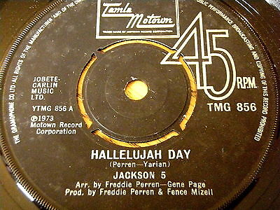 "The Jackson 5 - Hallelujah Days    7"" Vinyl"