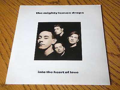 "The Mighty Lemon Drops - Into The Heart Of Love      7"" Vinyl Ps"