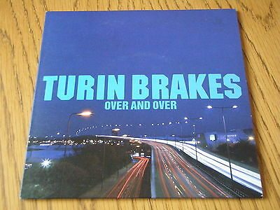 """Turin Brakes - Over And Over     7"""" Vinyl Ps"""