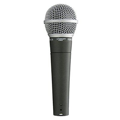 Pyle-Pro Professional Moving Coil Dynamic Handheld Microphone PDMIC58, New