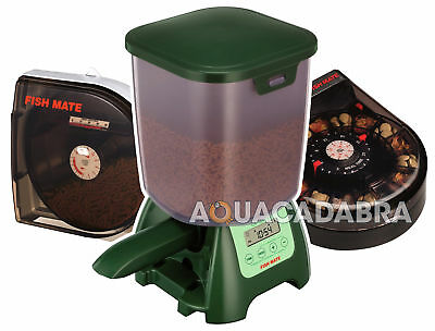 Fish Mate Automatic Feeder Auto Pond Aquarium Tank  Holiday Vacation Fishmate