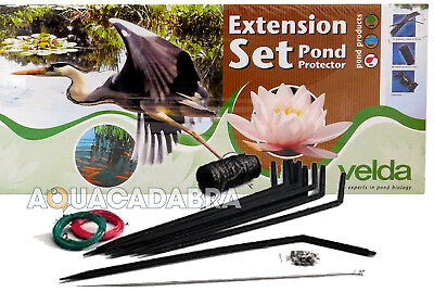 Velda Pond Protector Wire Extension Kit Set Electric Fence Heron Deterrent Fish