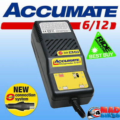 ACCUMATE 6 Volt & 12 Volt Classic Car Automatic Battery Charger, Latest Model