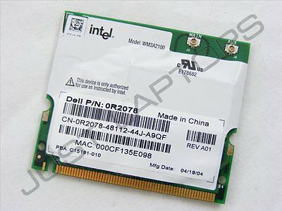 Dell latitude D400 D600 Laptop Mini PCI Wireless Wifi Wi-Fi Card 09Y200 9Y200