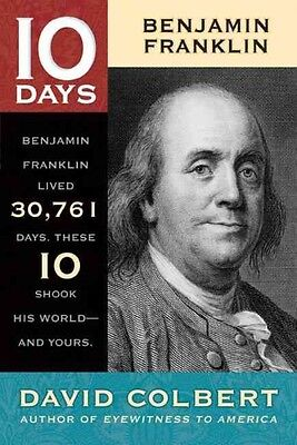 NEW Benjamin Franklin by David Colbert Paperback Book (English) Free Shipping