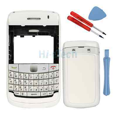 Replacement for Blackberry Bold 9700 9780 Full Housing Cover Case Keypad White