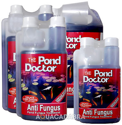 Tap Pond Doctor Anti Fungus Mouth Sores Water Treatment Garden Koi Fish Safe