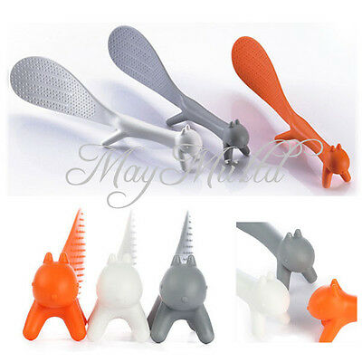 1pc Kitchen Squirrel Shape Rice Paddle Scoop Spoon Ladle Novelty Hot Sales S