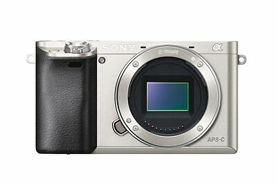Sony Alpha a6000 24.3 Interchangeable Lens Camera - Body only (Silver)