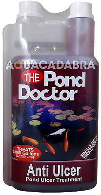Tap Pond Doctor Anti Ulcer 1 Litre Water Sore Treatment Garden Koi Fish Filter