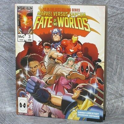 MARVEL vs. CAPCOM 3 Fate of Two World Art Material Booklet Japan Book PS3 Ltd