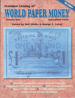 Standard Catalog Of World Paper Money Modern Issues 9Th Ed. Vol. 1 Specialized