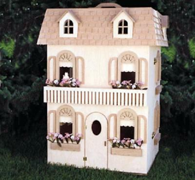 Victorian Barbie Doll House Woodworking Plans