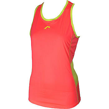 More Mile Racer Back Ladies Running Vest - Pink