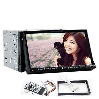 "LCD 7""HD Touch Screen Double 2Din In dash Car Stereo DVD Player Radio Ipod BT"