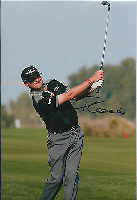 Paul LAWRIE SIGNED Autograph 12x8 Photo AFTAL COA Qatar Masters Doha Golf Club