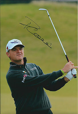 Paul LAWRIE SIGNED Autograph Photo AFTAL COA Alfred Dunhill Links Golf SCOTLAND