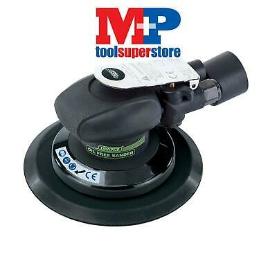 Draper 22415 Composite Body Dual Action Oil Free Air Sander (150mm)