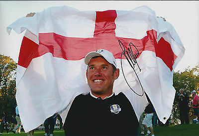 Lee WESTWOOD SIGNED AUTOGRAPH Golf Photo AFTAL COA Ryder Cup Winner MEDINAH USA