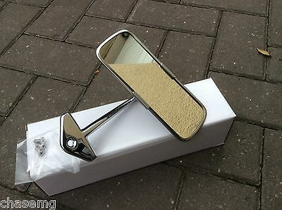 CLASSIC MINI INTERIOR MIRROR POL STAINLESS AND CHROME Great quality BS5-4