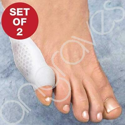 Pair of Silicone Little Pinky Toe Protector Caps Corn Bunion Sheild Cushion Gel