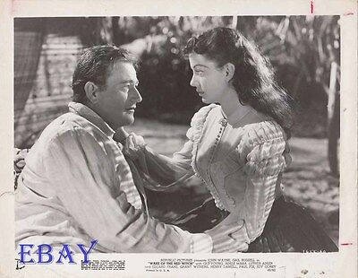 Gail Russell John Wayne VINTAGE Photo Wake Of The Red Witch