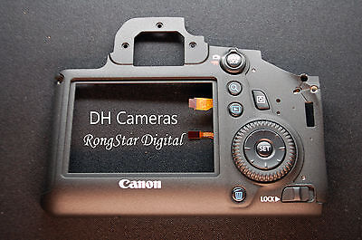Genuine Canon Rear Cover + Key Button for the 6D CY3-1685-010