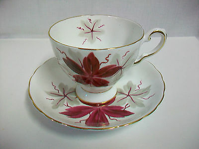 Vintage TUSCAN FINE ENGLISH BONE CHINA ENGLAND Cup and Saucer