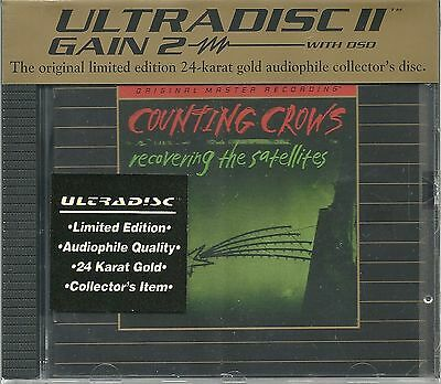 Counting Crows Recovering the Satellites MFSL Gold CD Neu OVP Sealed UDCD 750