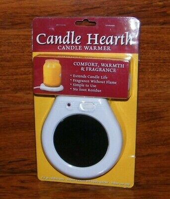 Candle Hearth Electronic Candle / Tea / Coffee Hot Plate Desktop Warmer **NEW**
