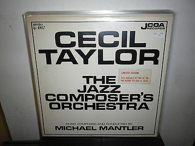 CECIL TAYLOR The Jazz Composer's Orchestra   LP EX+/M=   USA