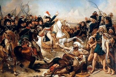 The Battle Of The Pyramids 1798 Napoleon Painting By Antoine Jean Gros Repro