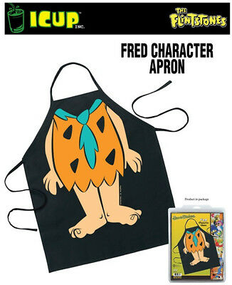 The Flintstones Fred Be The Character Adult Polyester Apron, NEW SEALED