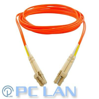 IBM 25m LC to LC LC-LC 50/125 Fibre Optic Patch Lead Cable 12R9915 Orange 10GB