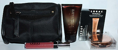 4 Pc LORAC Sun-Kissed Glow Tantalizer Collection + Makeup Bag **REDUCED