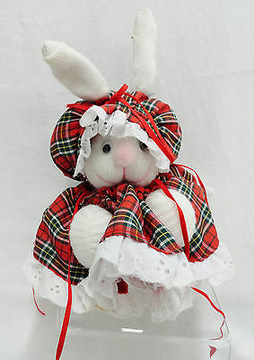Wittle Wabbits Christmas Sock Bunny Rabbit by Michal Cloes Vintage 1978