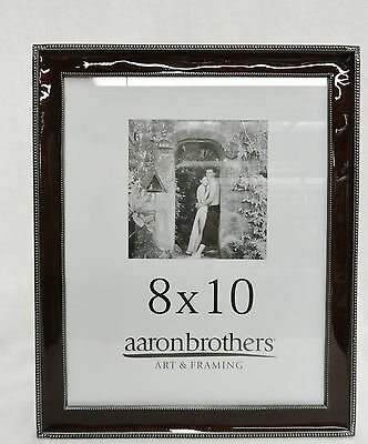 2 Picture Frames Aaron Brothers Peace Love Silver 125 X 1