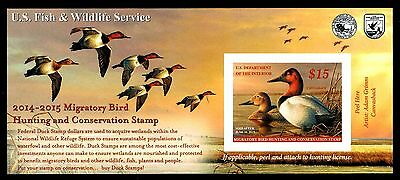 2014-2015 FEDERAL DUCK STAMP (RW81a)  MINT POST OFFICE FRESH!