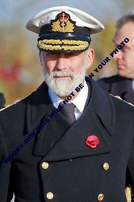 mm706 - Prince Michael of Kent in uniform - Royalty photo 6x4""